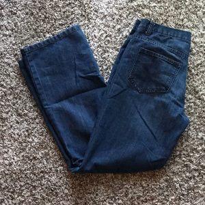 🎉3/$25 Calvin Klein Slim Straight Dark Jeans 18